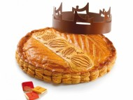 La Maison du Chocolat - Galette des Rois au chocolat Nazca. 42,5€/6pers.
