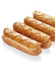 L'éclair de génie - L'éclair de Génie fête les rois à sa façon avec la réinterprétation de la traditionnelle pâtisserie à travers un éclair Feuilleté-Frangipane (composé de crème Frangipane vanille de Madagascar et feuilletage pur beurre. 2 pour 10€