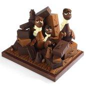 La Maison du chocolat : Prix : 950 € la pièce géante de 5kg - Pièce en édition limitée.