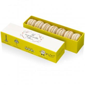 Macarons truffe blanche Pierre Hermé : 18€/7pces