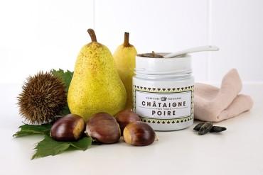 Confiture Parisienne - Poire/Chataîgne/Tonka : 14€/pot